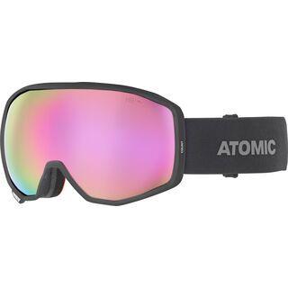 Atomic Count HD, black/Lens: pink copper hd - Skibrille