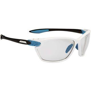 Alpina Twist Four 2.0 VL+, white-cyan-anthracite/Varioflex black - Sportbrille