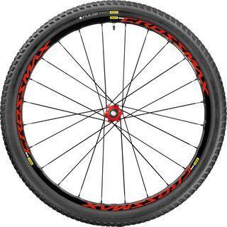 Mavic Crossmax Elite 29 Boost, black-red - Hinterrad