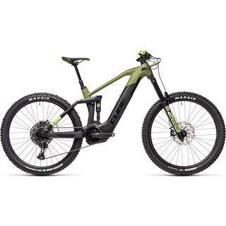 Cube Stereo Hybrid 160 HPC SL 625 27.5 2021, olive´n´black - E-Bike