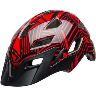 Bell Sidetrack Youth MIPS, red/black - Fahrradhelm