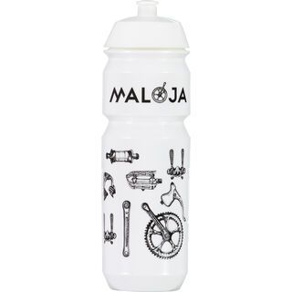 Maloja Osvald 750M., snow - Trinkflasche