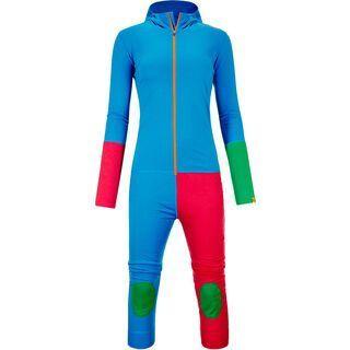 Ortovox Rock 'n' Wool Overall Ltd. Women, vivid blue - Funktionsunterwäsche