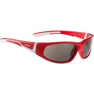 Alpina Flexxy Junior, red-white/Ceramic Black - Sportbrille