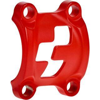 *** 2. Wahl *** Cube Front Plates - Vorbauklemme, red - Zubehör  
