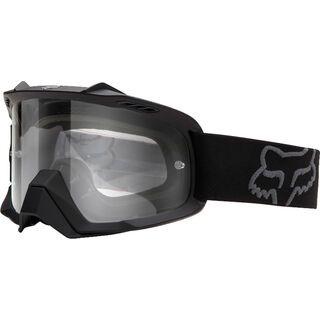 Fox Airspc, matte black/Lens: clear - MX Brille