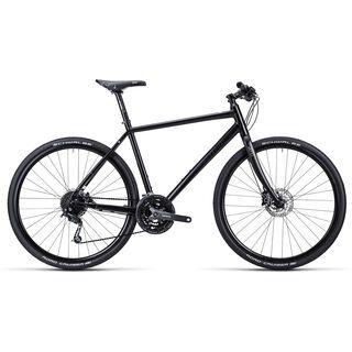 Cube Hyde 2015, black white shinyblack - Urbanbike