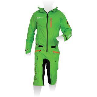 dirtlej DirtSuit Classic Edition, grün - Rad Einteiler