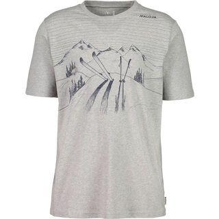 Maloja BengiaminM., grey melange - T-Shirt