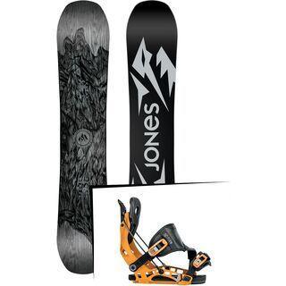 Set: Jones Ultra Mountain Twin 2019 + Flow NX2 (1908433S)