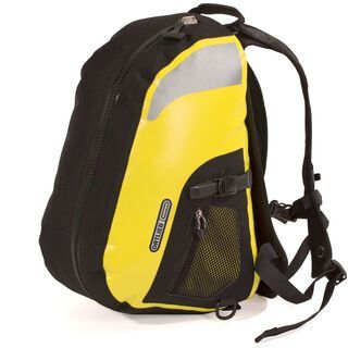Ortlieb Liegeradrucksack, gelb-schwarz - Gepäckträgertasche