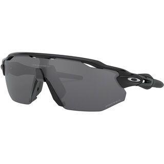Oakley Radar EV Advancer Prizm Polarized, polished black/Lens: black - Sportbrille