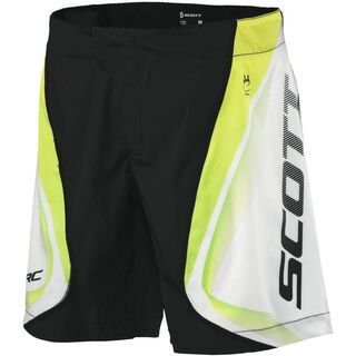 Scott Shorts Womens RC ls/fit, black/lime green - Radhose
