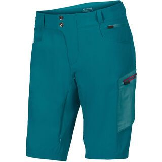 Vaude Men's Altissimo Shorts, green spinel - Radhose
