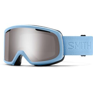 Smith Riot inkl. WS, smokey blue flood/Lens: cp sun platinum mir - Skibrille