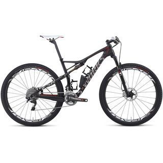 Specialized S-Works Epic FSR Carbon 29 2014, Carbon/White/Red - Mountainbike