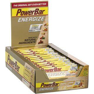 PowerBar New Energize - Original Vanilla Almond (Box) - Energieriegel