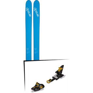 DPS Skis Set: Lotus 120 Spoon Pure3 2016 + Marker Kingpin 10