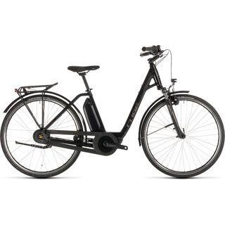 Cube Town Hybrid ONE 400 Easy Entry 2019, black´n´brown - E-Bike