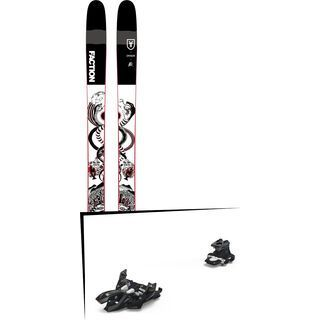 Set: Faction Prodigy 3.0 Collab 2019 + Marker Alpinist 9 black/titanium