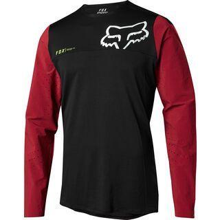 Fox Attack Pro LS Jersey, red/black - Radtrikot