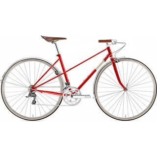 Creme Cycles Echo Mixte LTD 2017, red - Fitnessbike