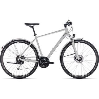 Cube Nature Pro Allroad 2018, grey´n´white - Fitnessbike