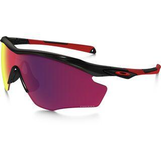 Oakley M2 Frame XL, polished black/Lens: prizm road - Sportbrille