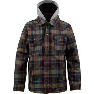 Burton Hackett Jacket, Cyanide Cheshire Plaid - Snowboardjacke
