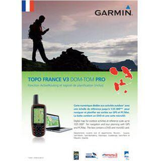 Garmin Topo Frankreich v3 Pro Überseegebiete - Karte