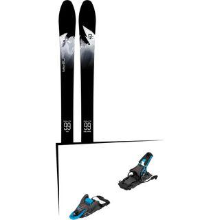 Set: Icelantic Sabre 99 2018 + Salomon S/Lab Shift MNC blue/black