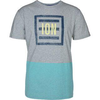 ION Tee SS 3 Letter Word, grey melange - T-Shirt