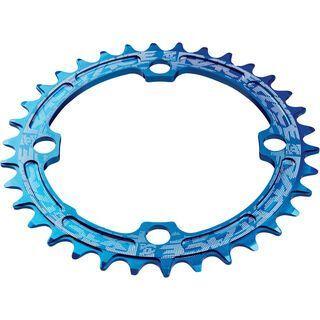 Race Face Single Ring Narrow Wide - LK 104, blue - Kettenblatt