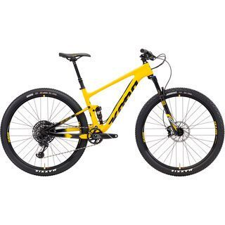 Kona Hei Hei CR/DL 2018, yellow/black/white - Mountainbike