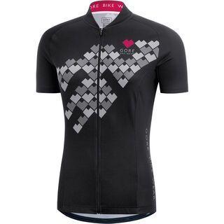 Gore Bike Wear E Lady Digi Heart Trikot, black - Radtrikot