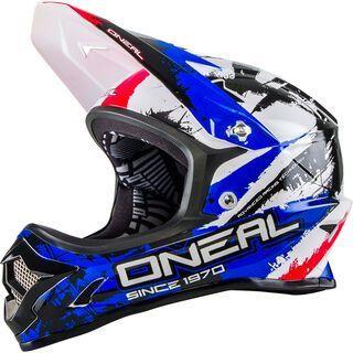 ONeal Backflip Fidlock DH Helmet RL2 Shocker, black/red/blue - Fahrradhelm