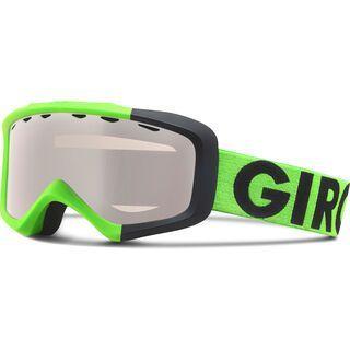 Giro Grade, bright green color block/rose silver - Skibrille