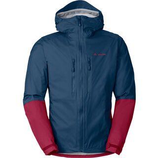 Vaude Mens Tremalzo Rain Jacket II, fjord blue - Radjacke