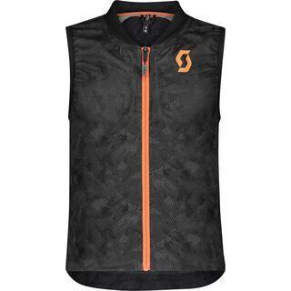 Scott AirFlex Junior Vest Protector, dark grey/pumpkin orange - Protektorenweste
