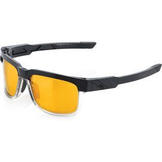 100% Type-S, licorice/Lens: gold mirror - Sonnenbrille