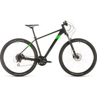Cube Aim Race 27.5 2020, black´n´flashgreen - Mountainbike