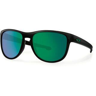 Oakley Sliver Round, matte black/Lens: jade iridium - Sonnenbrille