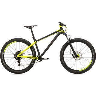 NS Bikes Eccentric Djambo 1 2017, dark raw/fluo yellow - Mountainbike