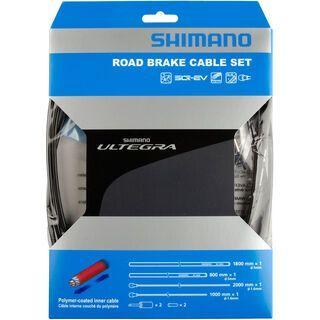 Shimano Bremszug-Set Ultegra Polymer beschichtet, schwarz