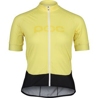 POC Essential Road Women's Logo Jersey lt sulfur yellow/sulfur yellow