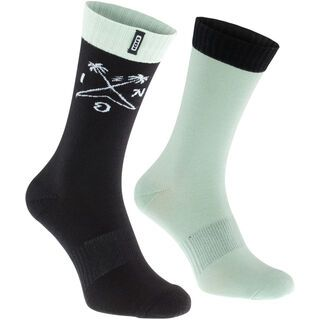 ION Socks Scrub, shallow green - Radsocken