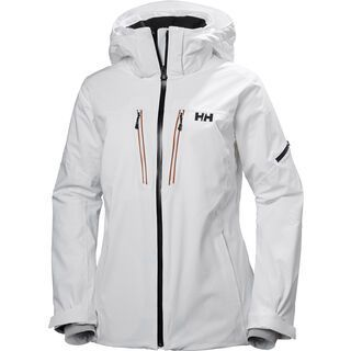 Helly Hansen W Motionista Jacket, white - Skijacke