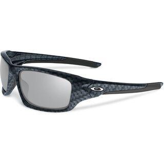 Oakley Valve, carbon fiber/chrome iridium - Sonnenbrille