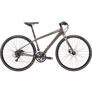 Cannondale Quick 3 Disc Women's 2018, anthracite - Fitnessbike