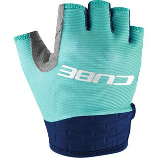 Cube Handschuhe Performance Junior kurzfinger blue´n´mint